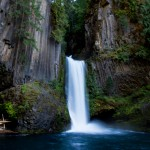 Toketee Falls – North Umpqua River
